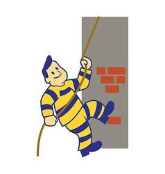 Climbing Prisoner vector