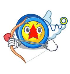 Cupid yoyo character cartoon style vector