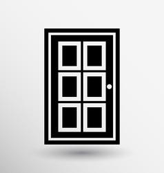 Door icon button logo symbol concept vector