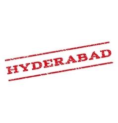 Hyderabad Watermark Stamp vector