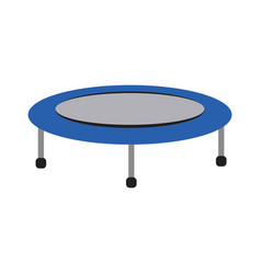 Isolated trampoline icon vector