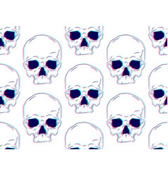seamless pattern with human vector image