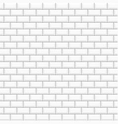white glossy ceramic tiles vector image