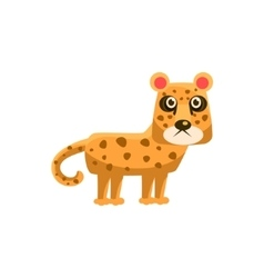 Leopard Funny vector image vector image
