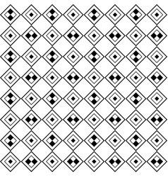 monochrome tiled pattern diagonal seamless vector image
