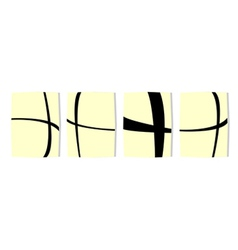 Abstract Rectangles vector image