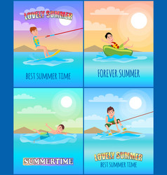 Best summer time collection vector