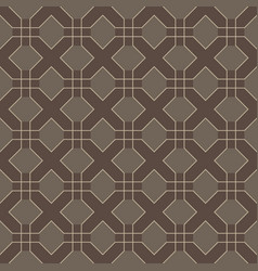 cross line seamless pattern vector image