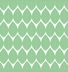 Leafs plant ecology pattern vector