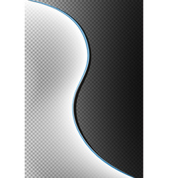 light effects with glow lines special white vector image