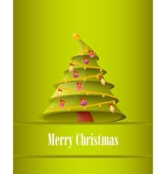 Poster Christmas Tree vector image