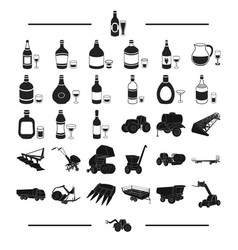 Transportation equipment agricultural and other vector