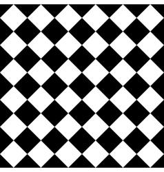 Empty diagonal chess board EPS10 vector image