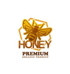 honey product bee premium product icon vector image