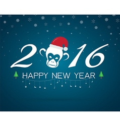 2016 happy new year vector image