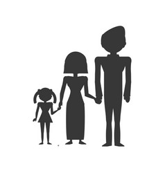 couples family son vector image vector image