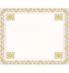 frame design for card vector image