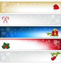 Christmas Headers vector
