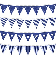 July 4th american textures vector image