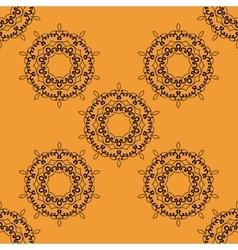 Oriental Seamless Print vector image