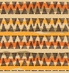 tribal ethnic seamless pattern with geometric vector image