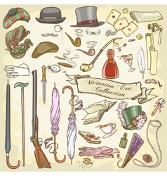 Victorian collection vector