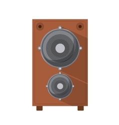 speaker box isolated icon design vector image