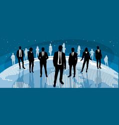 Global international business vector
