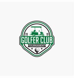 Golf club badge logo-4 vector