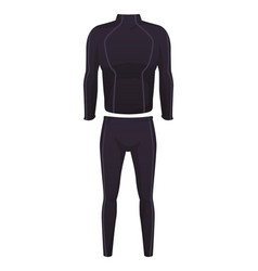 male fitness sport suit vector image