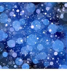 Blue lights vector image vector image