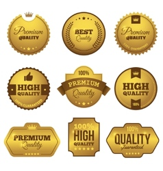 Premium quality 2 vector image vector image