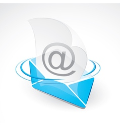 Email and envelope vector