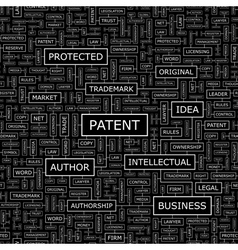 PATENT vector image