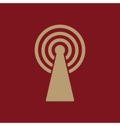 The wireless icon wifi symbol vector