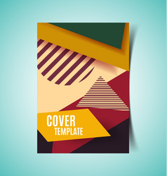 abstract report cover2 vector image