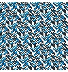 Abstract techno chevron pattern vector