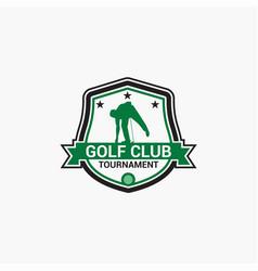 Golf club badge logo-8 vector