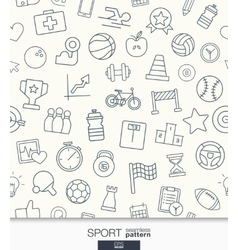 Sport or fitness wallpaper Black and white game vector image