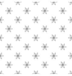 Wild flower pattern seamless vector