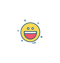 Yahoo icon design vector