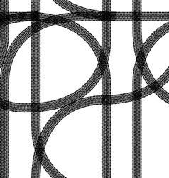 seamless wallpaper winter tire tracks pattern back vector image vector image