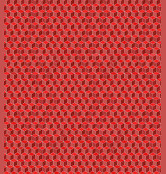 seamless cube pattern for background vector image
