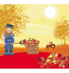Autumn cleanup vector