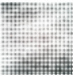 background of grunge halftone texture vector image