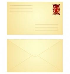 Christmas letter vector
