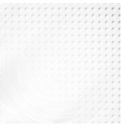 concentric circles halftone background vector image