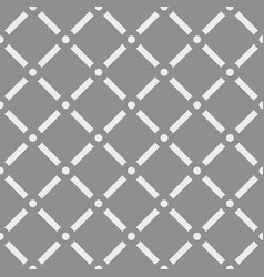 dotted grid mesh pattern squares with circle vector image