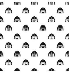 Firefighter jacket pattern vector