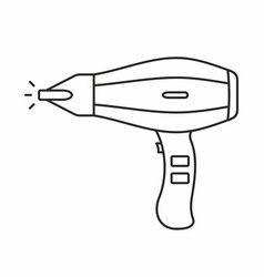 Hair dryer icon vector
